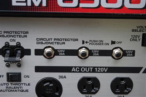 power out in part of house breaker not tripped drag race 101 generators part 2 racingjunk news