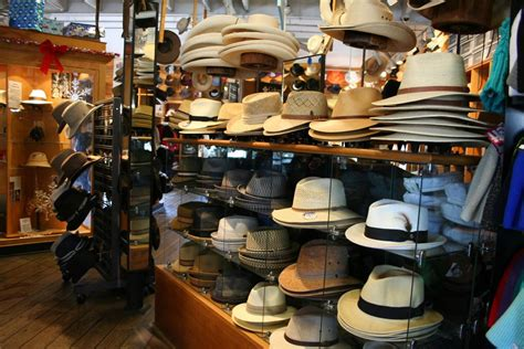 shop local village hat shop has holiday heads covered