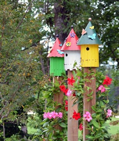 Bunte Vogelhäuser Bauanleitung by Bunte Vogelh 228 User Design Ideen Schmetterlinge Dekoration