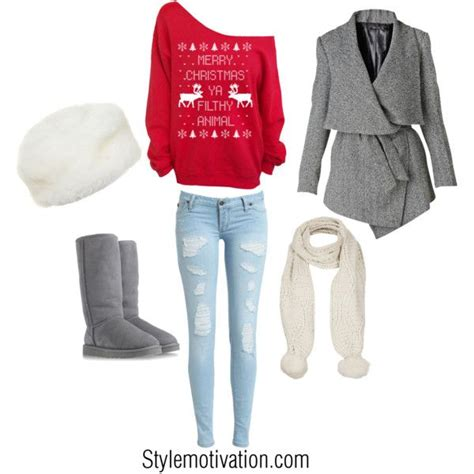 20 cute christmas outfit ideas cute sweaters boots and