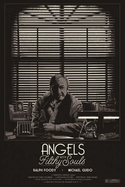 cool stuff home  inspired angels  filthy souls poster