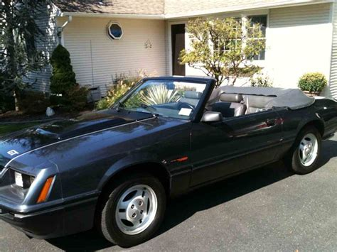 how petrol cars work 1984 ford mustang on board diagnostic system 1984 ford mustang gt for sale classiccars com cc 973461