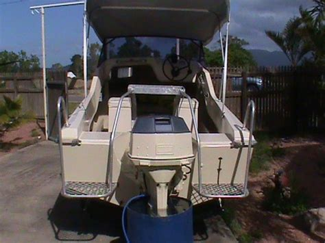 quick boats for sale australia 4 8m haines hunter half cab for quick sale townsville