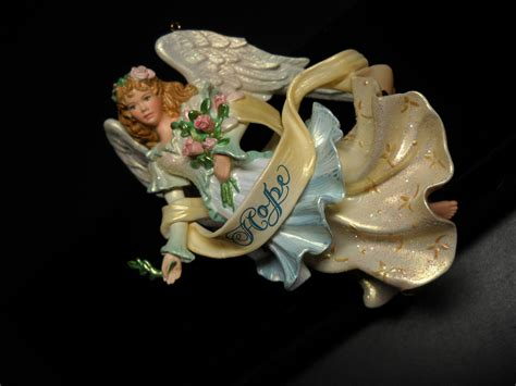 carlton cards heirloom christmas ornament angel of hope