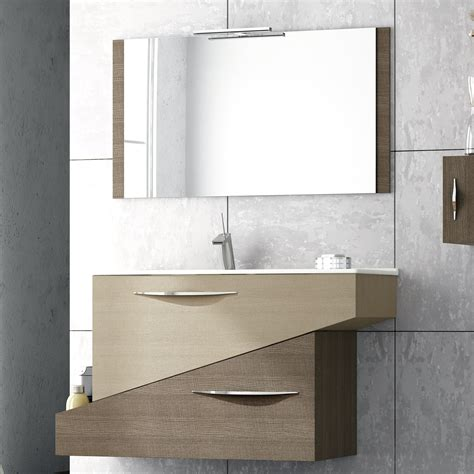 modern bathroom vanity mirror abella 38 inch modern single sink bathroom vanity set with