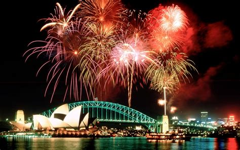 new year cookies sydney fireworks above the opera house and harbour bridge sydney