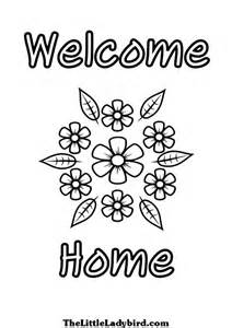 Galerry welcome home coloring page dad