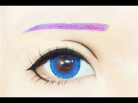 tutorial makeup luka megurine luka tutorial anime eye makeup 192 youtube