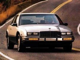 1986 buick riviera t type 1986 usa car spotters guide