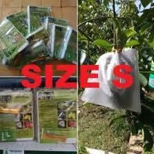 Min 100 Biji Benih Buah Jambu Biji Alpukat pembungkus buah heigrow medium 100 lembar jual tanaman