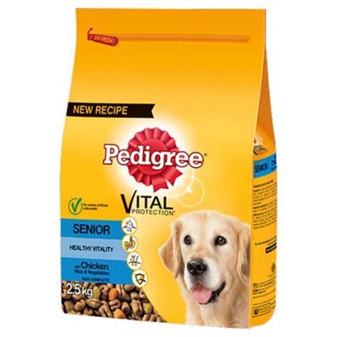 Food Pedigree 1 5 Kg 1 pedigree senior food with chicken rice and vegetables 2 5kg purely pet supplies ltd