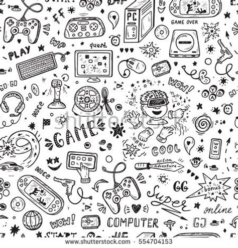 pattern drawing games gadgets drawing stock images royalty free images