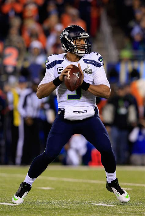 super bowl xlviii russell wilson has a why not us russell wilson photos photos super bowl xlviii seattle