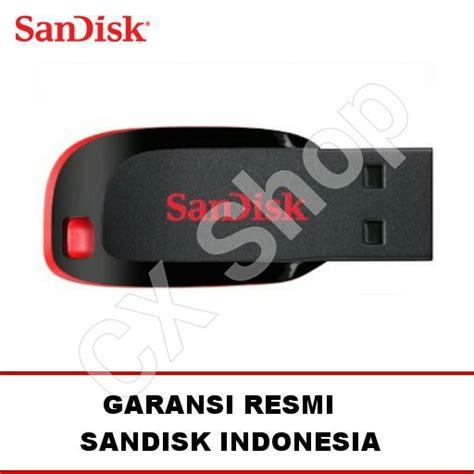 Sandisk Flashdisk Cruzer Blade Cz50 8gb Garansi Resmi jual sandisk cruzer blade 8gb cz50 flashdisk garansi