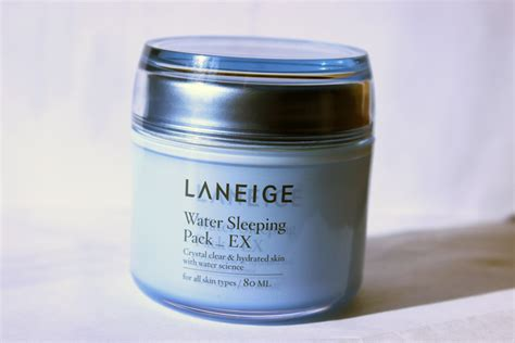 laneige water sleeping pack ex review everyday