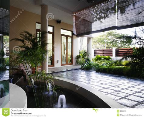 Home Interior And Landscape Design by Interior Design Landscape Royalty Free Stock Photo