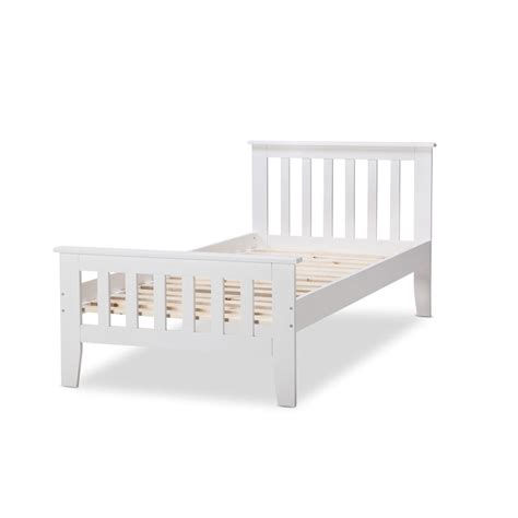 Avana King Single Federation Style Bed Frame White Buy King Single Bed Frame