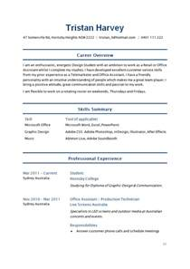 Student Resume Templates by Sle Student Resume How To Write Stuff Org