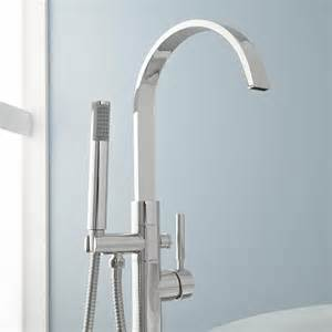 bathtub faucets with handheld shower benkei freestanding tub faucet and hand shower tub