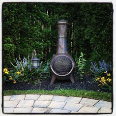 Concrete Chiminea Pits Chimineas On Pits Outdoor