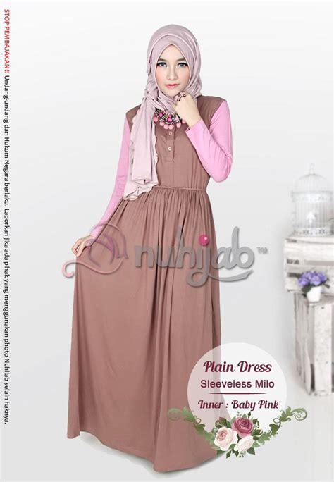 Baju Dress Caq Dress Milka baju jubah dress muslimah plain dres end 2 5 2019 12 15 pm
