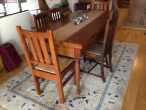 mission style antique kitchen table 1450 san francisco