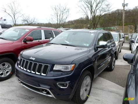 2014 blue jeep grand 2014 true blue pearl jeep grand overland 4x4