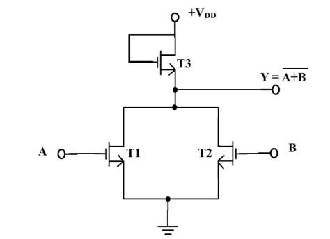 mosfet transistor logic logic families digital electronics