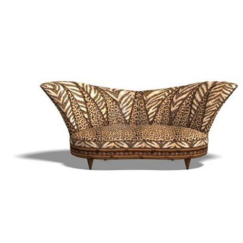 madame covet s style boutique leopard print sofa