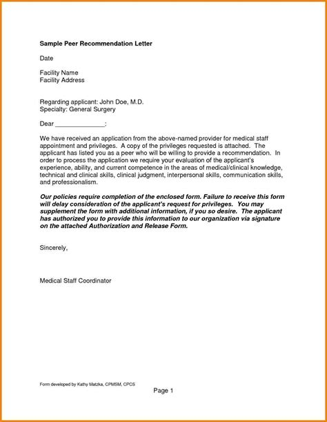 letters for general letter of recommendation letters free sle