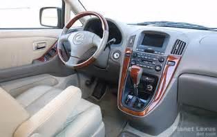 1999 Lexus Rx300 Interior Lexus Rx300