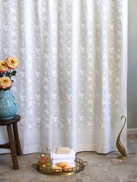 Country Bathroom Curtains Loft Country Shower Curtains For The Bathroom