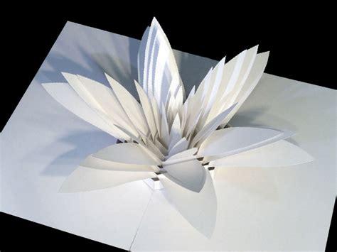 flower pop up card templates dahmen グラフィック デザイナーがつくる 飛び出るペーパーアート 型紙ダウンロードも可能 wired jp