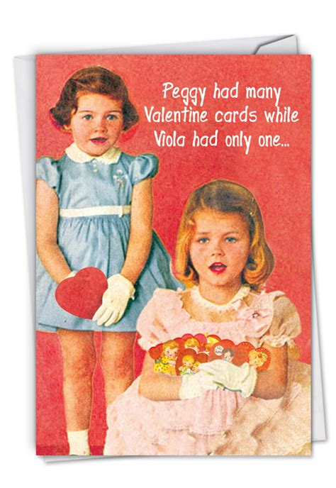 peggy   whore funny valentines day greeting card