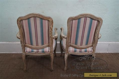retro armchairs for sale vintage pair of french louis xv style painted arm chairs for sale in united states