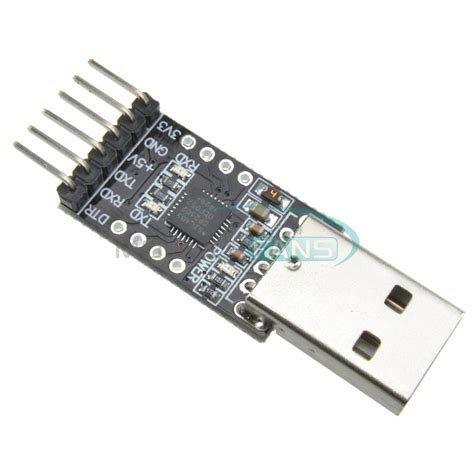 6 Pin Usb 20 To Ttl Uart Serial Converter Cp2102 Stc Module cp2102 usb 2 0 to ttl uart module 6pin serial converter stc replace ft232 module in electronics