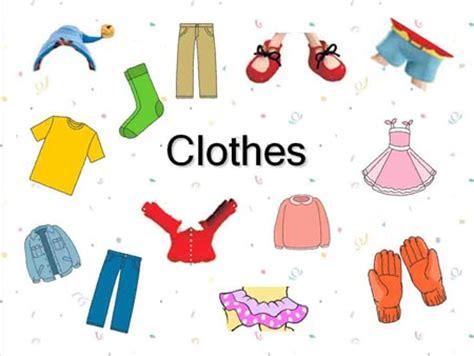 clothes for free aprender las prendas en ingl 201 s consejos para padres y