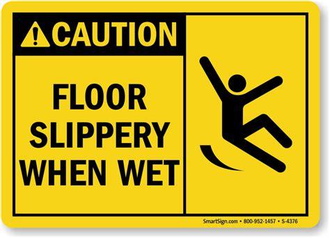 For Slippery Floors slippery floor signs mysafetysign
