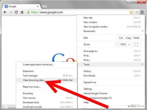 chrome how to clear cache google chrome cache error