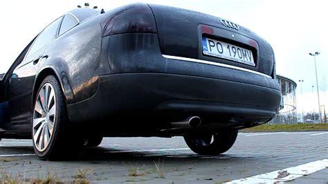 Audi A6 Auspuff by Audi A6 Ulter Exhaust Sound 2 4 V6