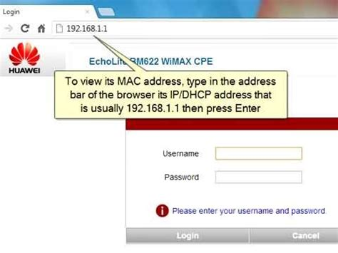 Modem Mac Address Lookup How To Change The Mac Address Of Huawei Bm622 Wimax Modem