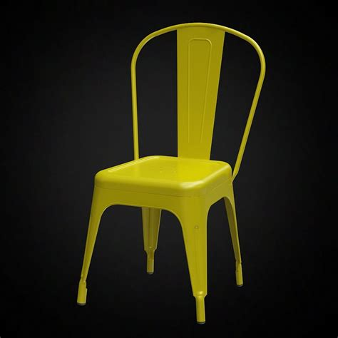 3D Tolix A Chair   High quality 3D models