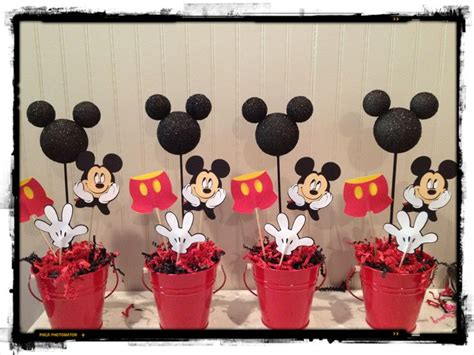 Mickey Mouse Birthday Centerpieces Mickey Party Pinterest Centerpieces For Mickey Mouse Birthday