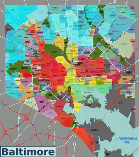 sections of baltimore where is the wealth in baltimore hunting maryland md