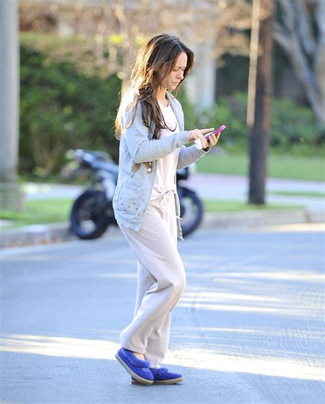 in house shoes jennifer love hewitt in slippers outand about in los angeles hawtcelebs hawtcelebs
