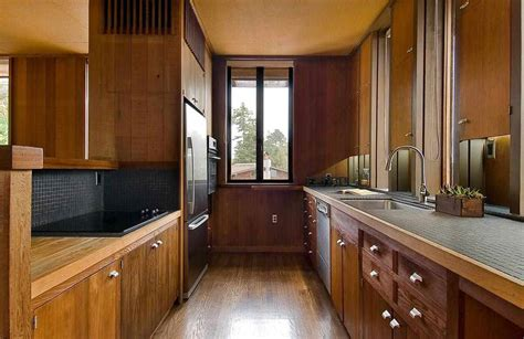 Modern American Kitchen Design 1960 berkeley time capsule house built by architect