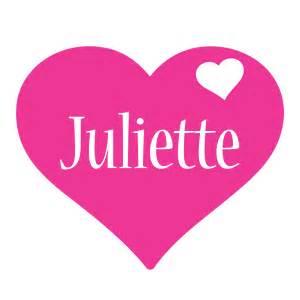 juliette logo name logo generator i love love heart