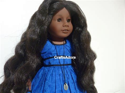 Hairstyle Books For Dolls by American Doll Addy Walker Is Meet Hair Let