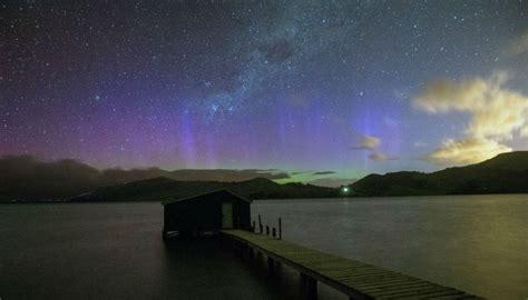 Stunning Aurora Lights Up New Zealand Lights Nz