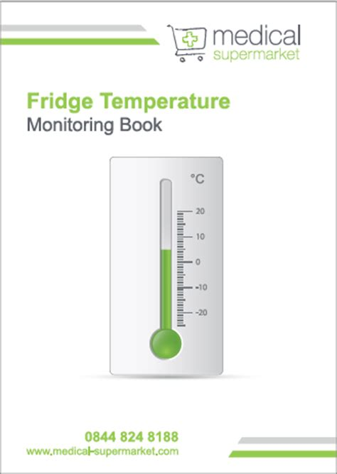fridge room temperature refrigeration refrigeration temperature log